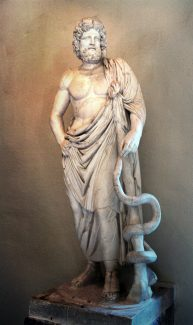 The birth of Asclepius and the symbolic origins of medicine